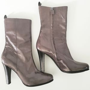 •COSTUME NATIONAL• Patent Leather Half Boots 39.5.